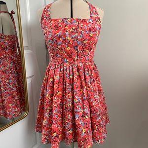 AX | Armani Exchange floral halter sundress